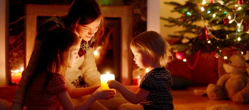 Веселые рождественские детские гадания