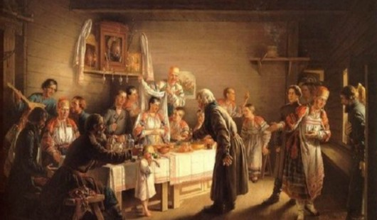 Сватовство & старинный свадебный обряд