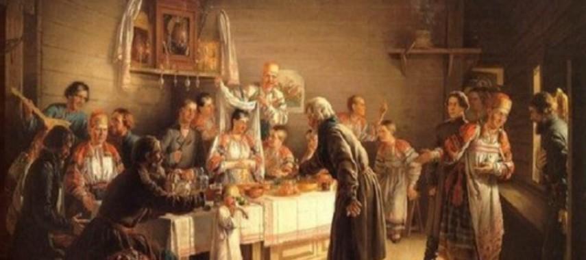 Сватовство — старинный свадебный обряд
