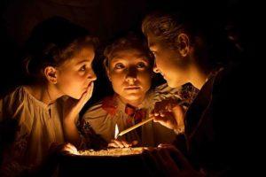 Гадания на Старый Новый год с подслушиваниями