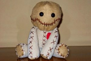 Создание куклы Вуду на самого себя