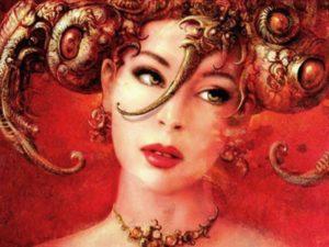 Знак Зодиака Овен - женщина