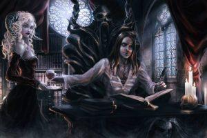 Ритуал посвящения в вампиры