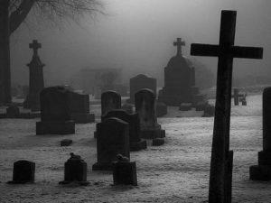 Порча на деньги через покойника