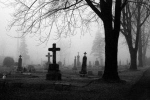 Кладбищенский приворот парня на вещь