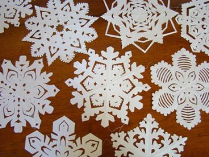 Гадание на снежинках