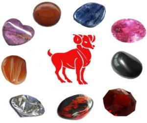камни для овна