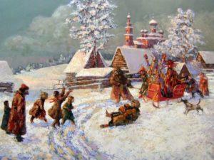 Народный праздник Святки - время гаданий