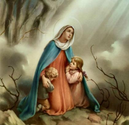 Молитва за детей к Божией Матери