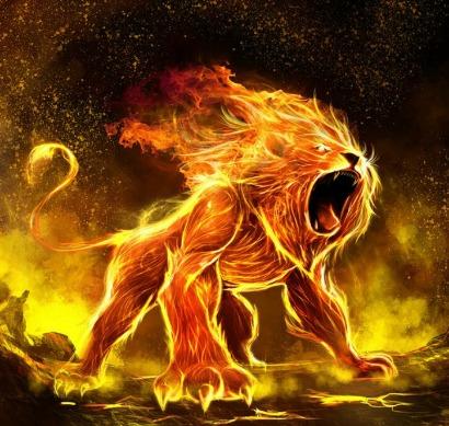 Огненный знак зодиака Лев