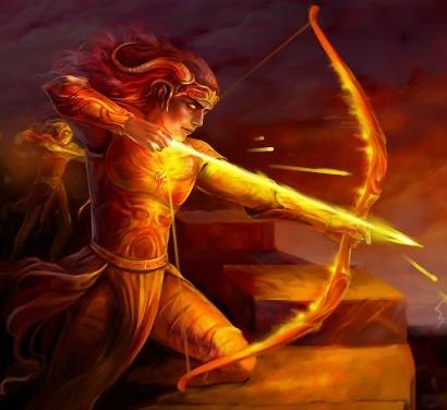 Огненный знак зодиака Стрелец