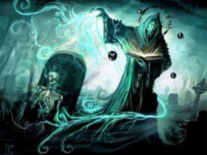 некромантия - общение с душами умерших