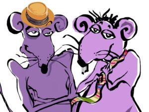 Мужчина Крыса и женщина Крыса в отношениях