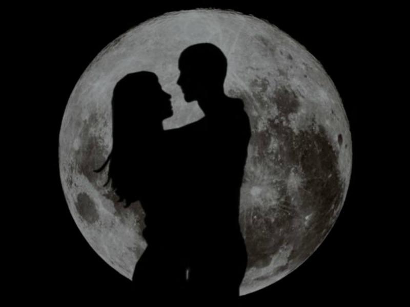 Приворот по фотографии на полную луну