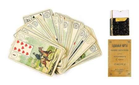 Цыганский расклад Ленорман на 36 карт