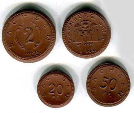 Монета из глины