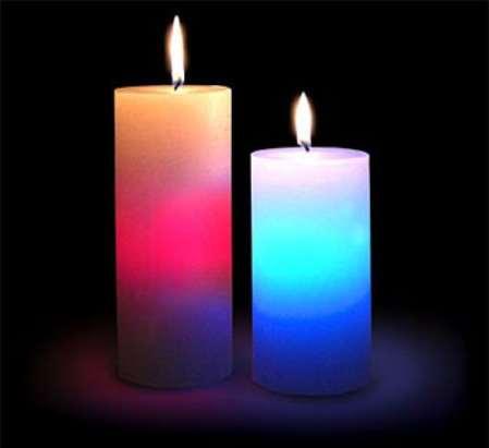 Приворот женщины со свечами