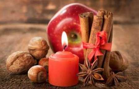 Обряд с яблоком и свечами