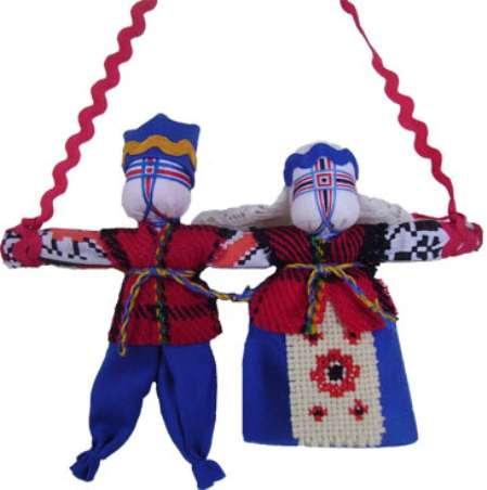 Свадебная кукла оберег