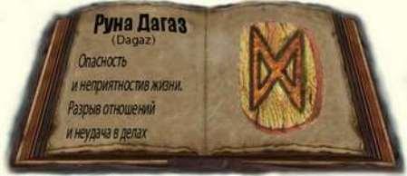 Руна Дагаз - значение и толкование руны в гадании