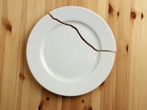 рассорка на тарелку