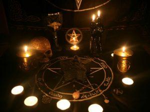 Заклятия и заклинания черной магии
