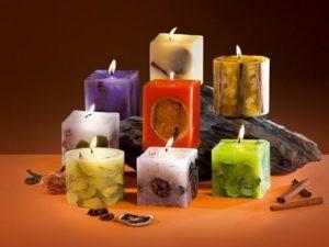 магические ароматические свечи