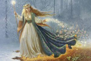 Имболк - богиня Бригита