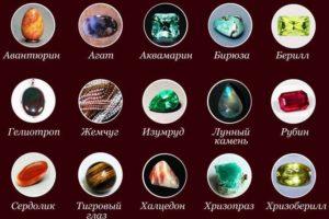 Камни для Рака по дате рождения