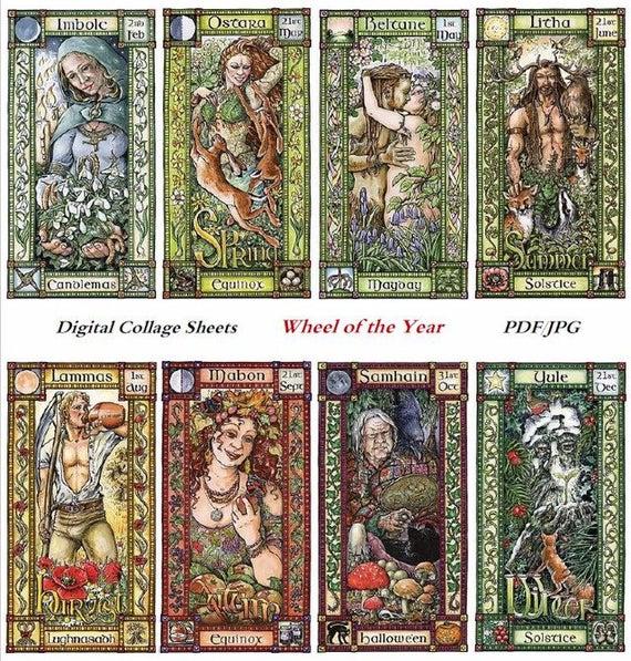 Праздники языческого календаря Колесо года