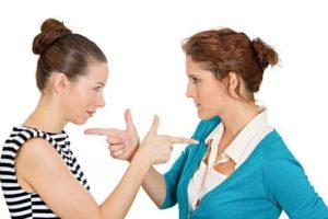 Воздействие на соперницу - рассорка